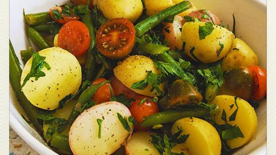 Potato Salad Vegan Style - Chew on Vegan