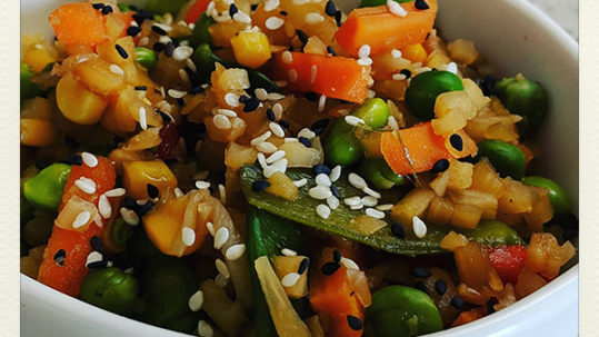 Chew on Vegan Trader Joe's Stir Fry