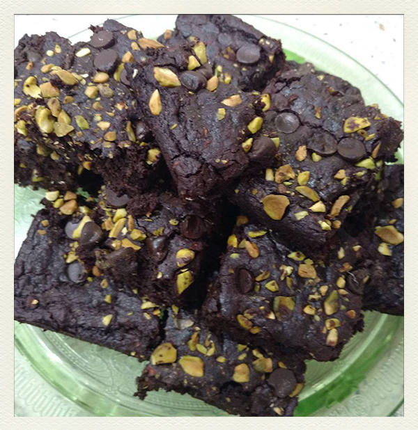 Chew on Vegan Chef AJs Outrageous Brownies