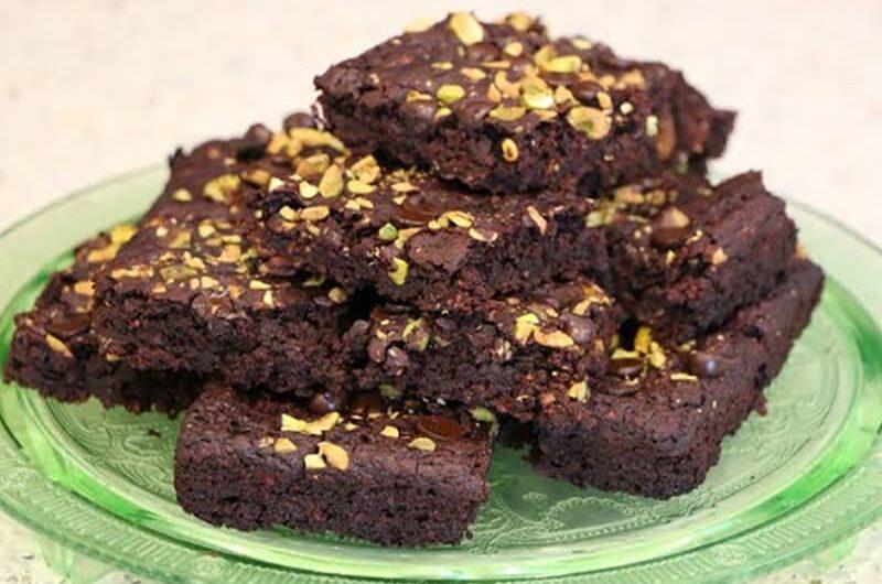 Outrageous Vegan Brownies