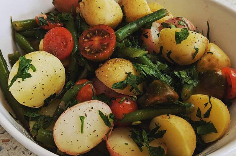 Potato Salad Vegan Style